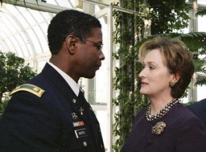 Denzel Washington şi Meryl Streep