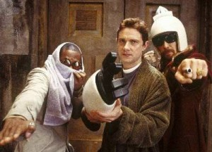 Mos Def, Martin Freeman and Sam Rockwell