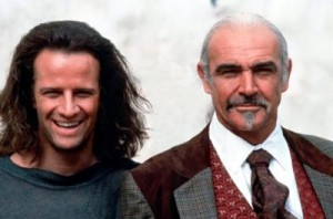 Sean Connery şi Christopher Lambert