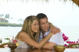 Jennifer Aniston şi Adam Sandler