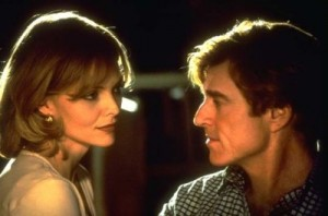Robert Redford şi Michelle Pfeiffer
