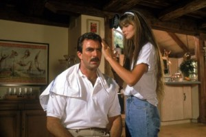 Tom Selleck şi Paulina Porizkova