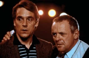 Jeremy Irons şi Anthony Hopkins
