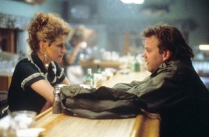 Nancy Travis şi Kiefer Sutherland