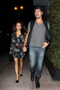 Eva Longoria And Eduardo Cruz Dine At Beso