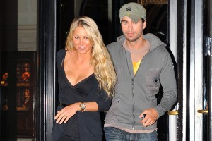 Anna Kournikova and Enrique Iglesias had diner in Paris