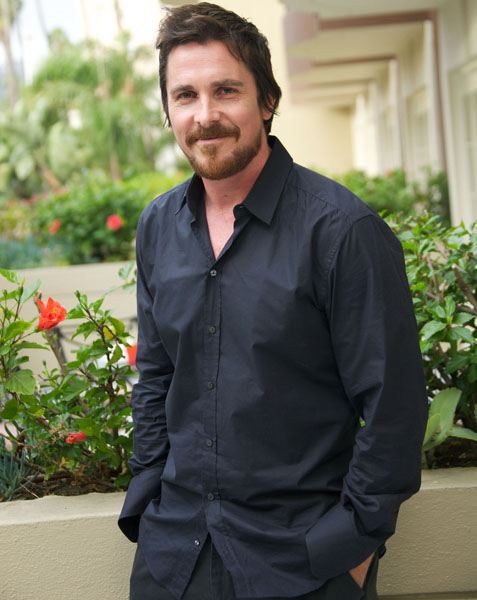 Christian Bale Attends 'Out Of Furnace' Junket - LA