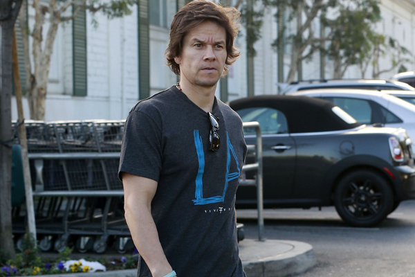 Mark Wahlberg Out Grocery Shopping At Bristol Farms