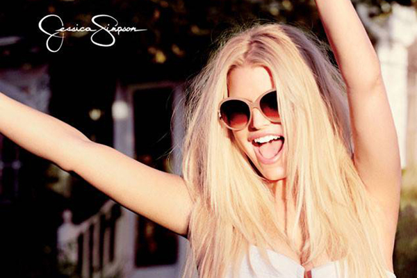American actress and fashion designer Jessica Simpson poses in this photoshoot for her own firm 'Jessica Simpson' spring 2014 campaign.