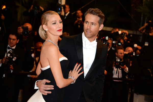 Blake Lively şi Ryan Reynolds
