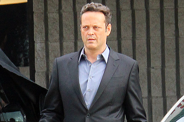 Vince Vaughn Films 'True Detective' In Los Angeles
