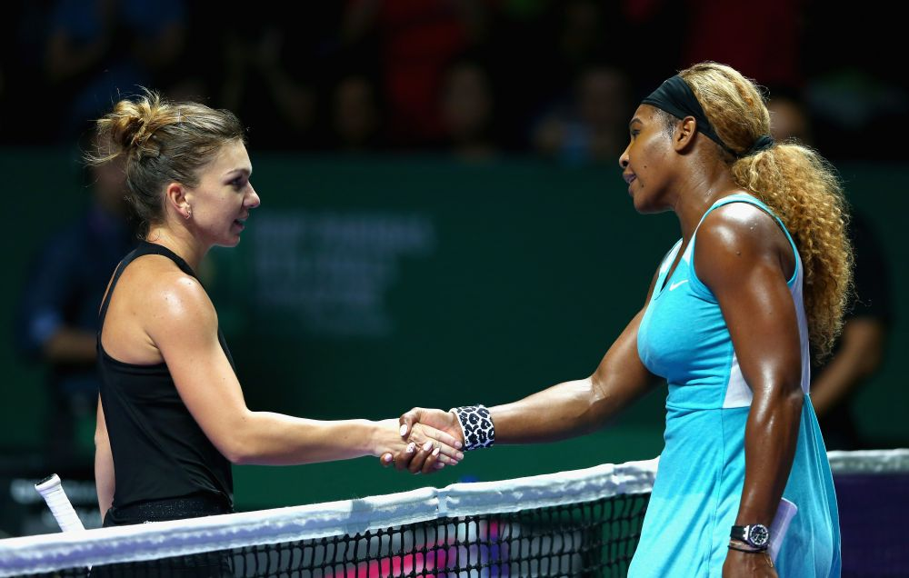 Simona Halep vs. Serena Williams