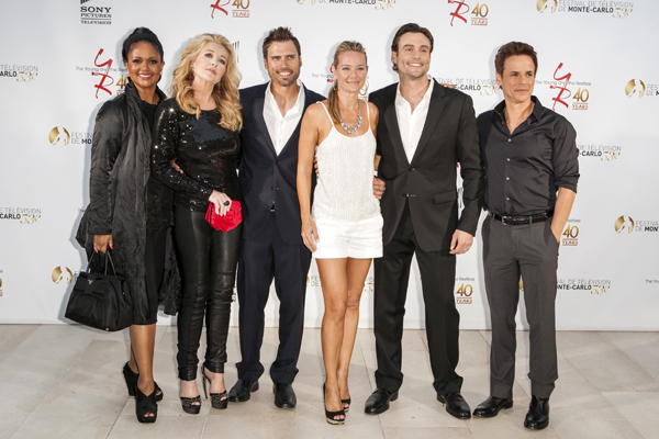 'The Young and the Restless' party marking the 40th anniversary of TV series The 53rd Monte Carlo TV Festival