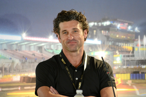 Patrick Dempsey During Official Le Mans Test