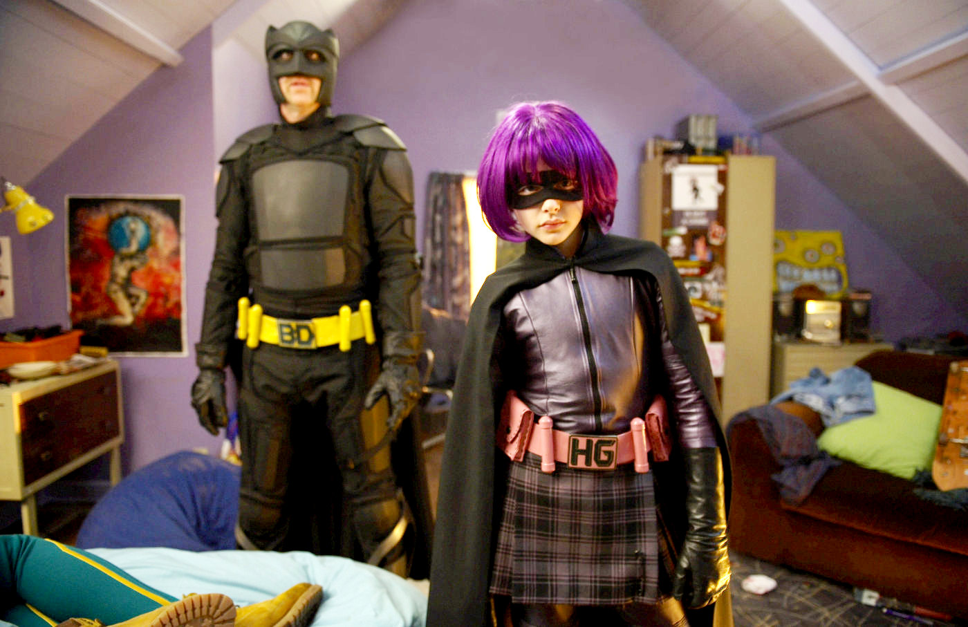 Hit-Girl și Big Daddy