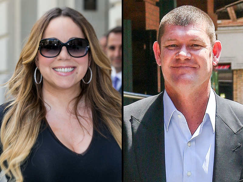 Mariah Carey si James Packer
