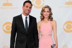 Mandatory Credit: Photo by BEImages/Jim Smeal (1699903ny) Bobby Cannavale, Rose Byrne The 65th Annual Primetime Emmy Awards, Arrivals, Los Angeles, America - 22 Sep 2013