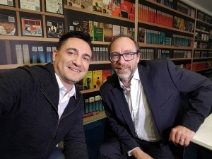 George Buhnici & Jimmy Wales