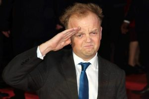 LONDON, ENGLAND - Toby Jones at the 'Dad's Army' World Premiere at the Odeon, Leicester Square in London, England. 26th January 2016. CAP/ROS © Steve Ross/Capital Pictures