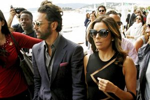 "Actress Eva Longoria and boyfriend Jose ""Pepe"" Antonio Baston strolling at the Boulevard de la Croisette during the 68th annual International Cannes Film Festival in Cannes, France, 21th May 2015. Credit: Reymer/face to face"