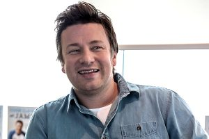 "TV Chef Jamie Oliver presents his ""Cook Clever"" book in Berlin"