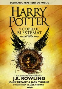 Harry Potter si copilul blestemat_coperta 1
