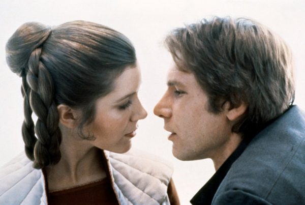 Carrie Fisher s-a iubit cu Harrison Ford