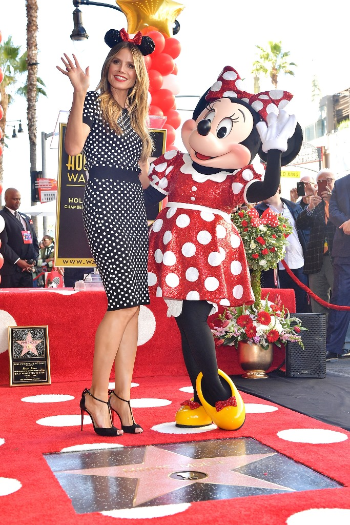 Minnie Mouse a primit propria stea pe Hollywood Walk of Fame (1)