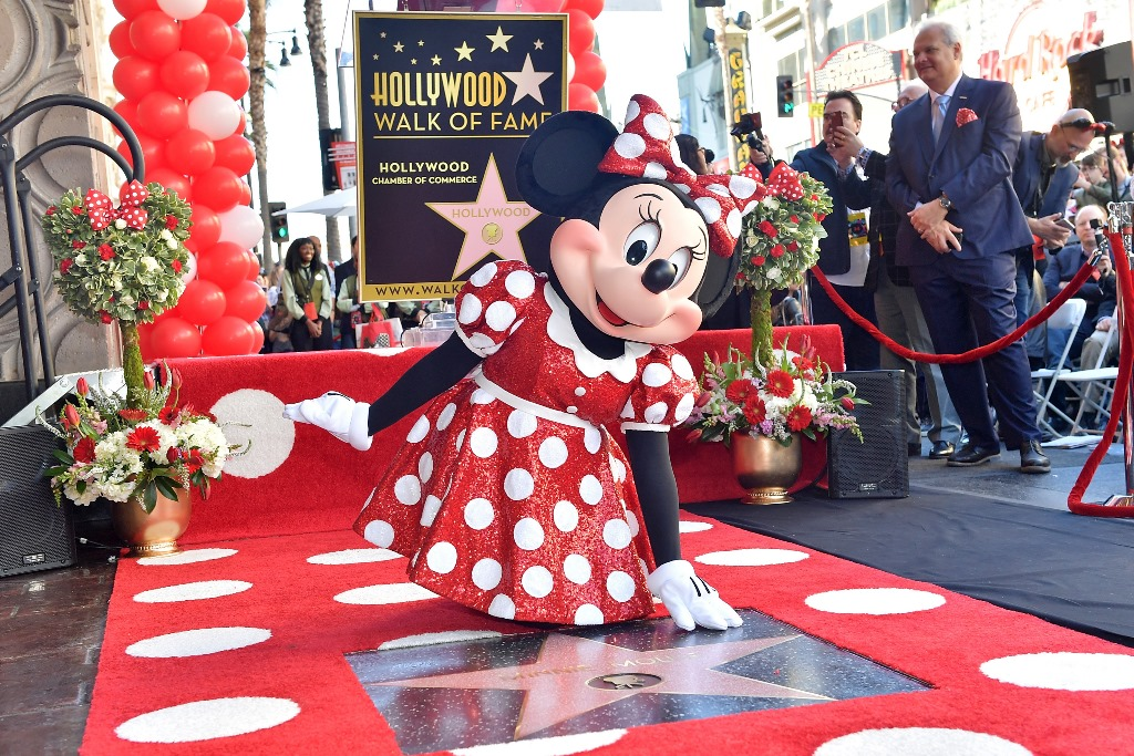 Minnie Mouse a primit propria stea pe Hollywood Walk of Fame (13)