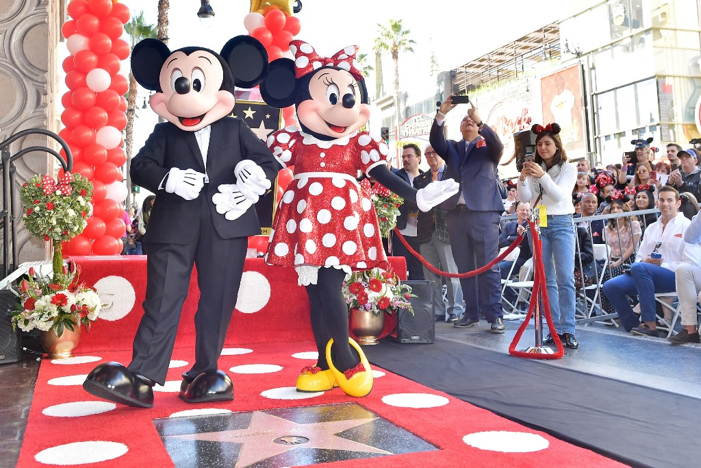 Minnie Mouse a primit propria stea pe Hollywood Walk of Fame (5)