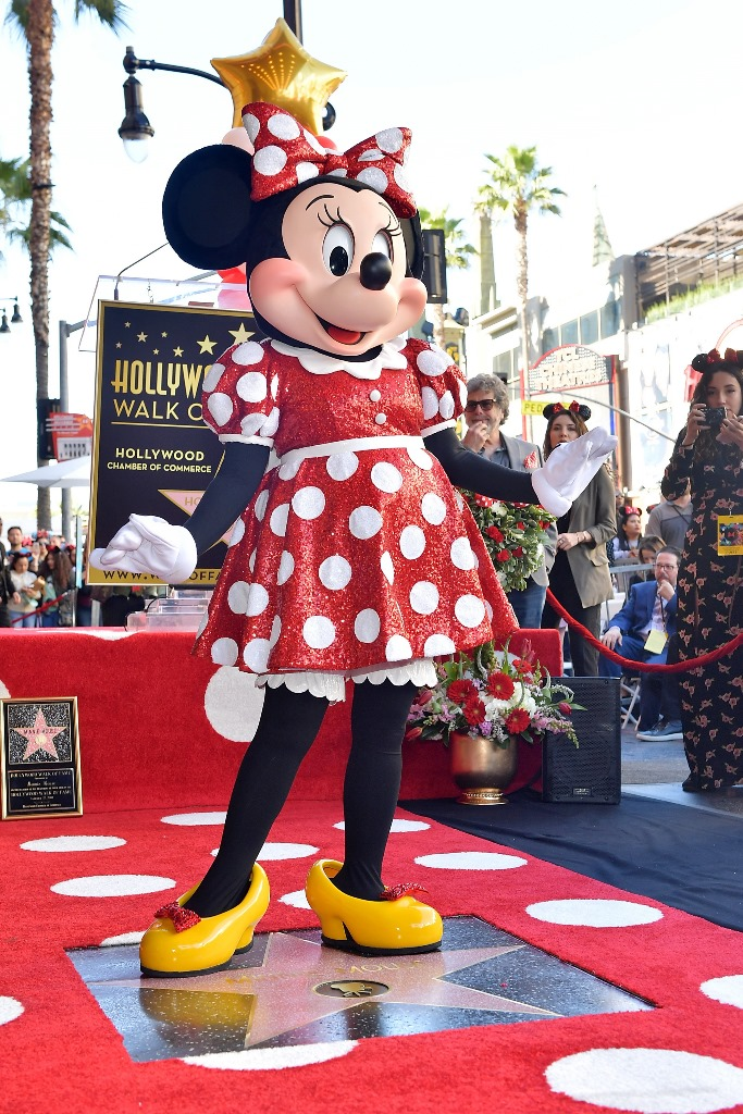 Minnie Mouse a primit propria stea pe Hollywood Walk of Fame (7)